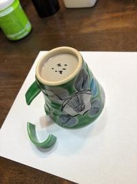 九谷焼は結構もろいですね。マグカップが簡単に壊れました。どう思いますか?