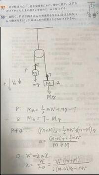 物理のエッセンスの問題です。 58番の問題、自分の答えも解法も、模範解答と違ったのですが、自分のこの解法でも答えを導き出すことは可能ですか?