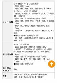 東京都立大学を受験しようと思っている者です。 共通テストで、国語、化学基礎、生物基礎、英語、日本史B、倫政、数ⅠA 個別試験で、国語、英語、日本史B の選択で受験できるという解釈で合っているのでしょうか。...