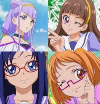 プリキュアキャラクター この中で誰が好きですか?