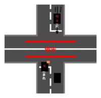 一時停止無視の車と交差点でぶつかりそうぶつかりそうになりました。もし事故してた場合どちらが悪いですか? 一時停止の交差点で相手が一時停止をしないで突っ込んできそうになりました。私は一時停止後少し前に...