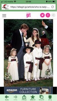 ダイアナ妃の弟のページボーイを務めた右から二番目の美少年誰ですか