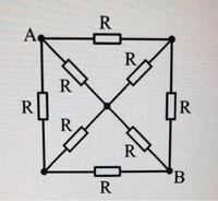 電気回路について AB間の抵抗の求め方を教えてください。