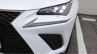 レクサスNXのヘッドライトの下にある突起は何のためにあるのでしょうか?