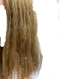 美容院でブリーチをしてもらったらすごく痛んでしまいました。これは切るしかないのでしょうか…?  週に2〜3回洗い流すトリートメントはしてて、絡まるとかはないのですが、切れ毛?がすごく目 立ってしまいます。