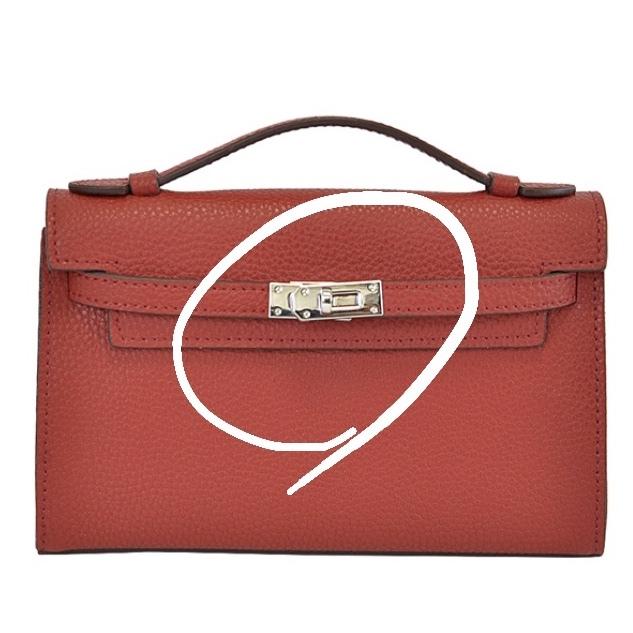 画像有。 財布やバッグ等によく使われているこの金具のデザインの名称を教えてください。