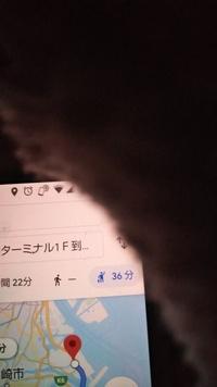 Google Mapで検索すると羽田空港まで徒歩では行けないとでますが、成田空港には徒歩でも行けると出ますがなんでですか?写真は羽田空港までの行き方を検索した画面です