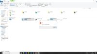 Cドライブを開こうとすると アプリケーション見つかりません となり、開く事が出来ません。左側のドライブアイコンからは開けます。原因がわかりません。よろしくお願い申し上げます。 OSはWindows10です。
