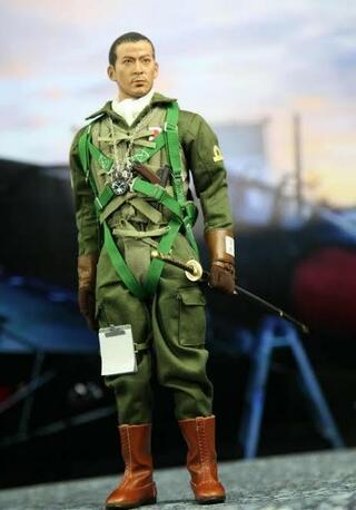 飛行服,海軍航空隊,旧帝国海軍,茶色,オスプレイ,緑色,オリーブドラブ