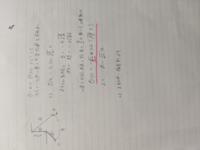 画像にある単振り子の問題について (1)の解き方が解説にありましたが、ピンクの線のところの導出が分かりません。 また、この問題をエネルギー保存則から解くやり方も教えて下さい。