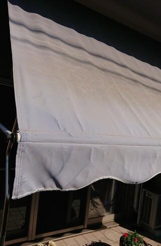 日除けテント,高圧洗浄,ベランダ,いくつか,フェーディング,メーカー,ポリエステル