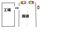 歩行者も自動車用の信号を見るべき? 国道に面した自転車通行も可能な大きな歩道を歩いていたのですが引かれそうになりました。 そこは大きな工場の出入り口で工場用? の出入りのためと思われる信号が設置されているのですが歩道には信号も横断歩道もありません。そのため工場から出る車が信号が青でも気が付かずに出入口を横切ってしまいました。 このような道路事情の場合、信号があっても自動車が一時停止ない...