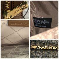 マイケルコースのショルダーバッグを貰ったのですがこれは偽物でしょうか?
