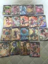 ドラゴンボールヒーローズのカードについてです 下のカードはどのくらいの値段で売れますか?? 初歩的な質問ですみません^^;