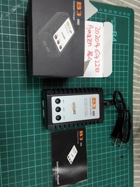 リポバッテリー充電器 2#3#セル充電器Amazonで購入今届きました❗  初めての充電器ですが、大丈夫そうですか、同じの持ってる方や詳しい方お願いいたします❗