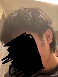 これはツーブロックですか? 髪の毛の横のところが邪魔だったのでハサミで切ったのですが、ツーブロック?みたいになってしまいました。 学生なのでツーブロックは校則違反になってしまいます… どうすればよいのでしょうか。