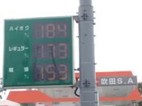このガソリン価格を見て、どう思いますか