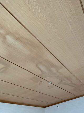 雨漏り,天井,痕,状態,部屋
