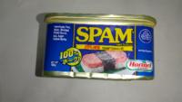 SPAM  スパム?   懸賞問題で  このSPAM スパム?  と言う缶詰が当たりました。    コンビーフみたいな缶詰。   まだ開缶してません。   これ、そのまま食べるのですか?   それとも何か調理するのですか?    調...