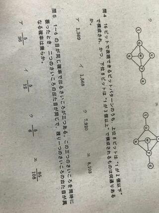 ビットパターン,さいころ問題この二つ,計算方法,パターン数,下位8ビット,上位8ビット,全パターン