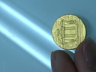 コイン,明治天皇御生誕百三十年祭,肖像,刻印,建物