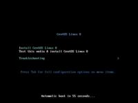VirtualBoxでLinuxのテスト環境を作ってみようと考えています。 そこで、ネット上の情報を元に実行しているのですが、CentOS8のインストールができなく困っています。 「install CentOS Linux 8」をenter後、黒...
