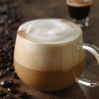 カフェオレ、カフェラテ、カプチーノだったらどれが好き? (^。^)b  ※画像はカプチーノ
