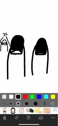 ジェルネイルについて質問です。手描きの絵が下手くそですみません(><) ジェルネイルは約1ヶ月でオフしないとグリーンネイルになると書いていたので1ヶ月以内にオフしたのですがオフした時の私の爪は右のイ...