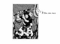 呪術廻戦の作者の芥見さんってバガボンド好きなんでしょうか?このシーンだったり虎杖がヨダレにも気付かないほど集中してるシーンだったり何個かそっくりなトコがあるので、、