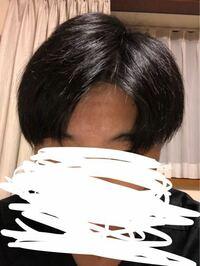 高一男子です。 先週髪を切ったのですが前髪がぱっつんになってしまっため、写真のようにセンター?分けで学校に行こうと思います。ちなみにワックスは前髪だけに付けて崩れにくくしようと思っています。  この髪型は変でしょうか?前までは結構重いマッシュでした。