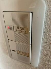 トイレの電気の下のボタンが奥に入ってしまい、電気が消せなくなってしまいました。直す方法はありますか?泣