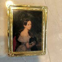 こちらの絵画の作者と作品名が分かる方、教えてください。家の押し入れからこのマグネットを見つけました。