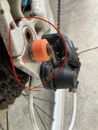 自転車のこの金属部分のパーツってなんていいますか?