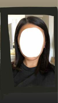 この輪郭は何型に入りますか? 今は前髪が長くて分けてるんですけど、切ろうか迷ってます。