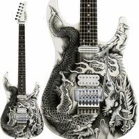 このギターってダサいですかね? 自分はとてもかっこいいと思うんですが、ダサいと感じる人はいるんですかね? 自分は買う予定とかはないので単純にこういうデザインが苦手な人もいるのか知りたいだけです。