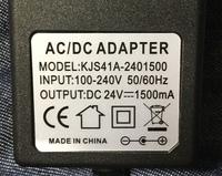 アダプタの接触が悪くなってしまい代替のものを探しています。 INPUT100-240V 50/60Hz OUTPUT DC24V 1500mA センタープラス  1500mAが売ってないので2Aのものでも大丈夫でしょうか? DCポート直径は5.5x2.1mmです。   候補は以下の二つです。 宜しくお願いします。 https://www.amazon.co.jp/dp/B...