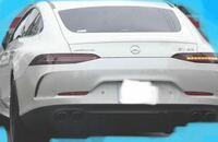 メルセデスベンツAMGであることは確かなのですが、車種名がボケていて読めません。何という車種だか教えてください。