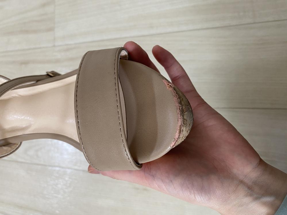 こんな風になってしまった靴の直しかたわかる方いらっしゃいるますか?