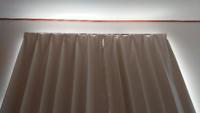 遮光カーテン1級(ニトリ製品)をつけたのに明るいです。 丈の長いものをつけた方がいいですか?  写真のものは、100x135です カラーはアイボリーです