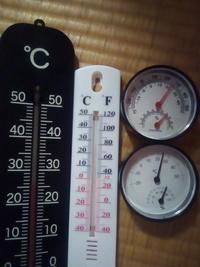 温度計は直射日光に当てると輻射熱で 高くなりますか?