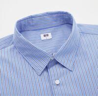 ファッション初心者です。秋冬に掲載してある青のストライプシャツって変でしょうか?あと、秋冬にもかっこいい着こなし方を教えてください。 ストライプシャツはどうしても春夏のイメージがあるので少し気になっ...