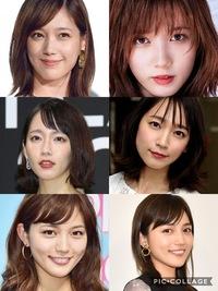 吉岡里帆、本田翼、川口春奈 この3人の中だと誰が一番美人だと思いますか?