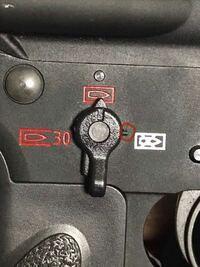 vfc HK416a5 GBBのこのネジが外れてきたのですが、締め方がわからないので、誰か教えていただけませんか?
