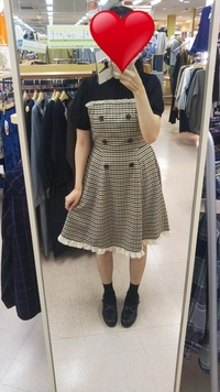このファッション、可愛いですか? お礼50枚。