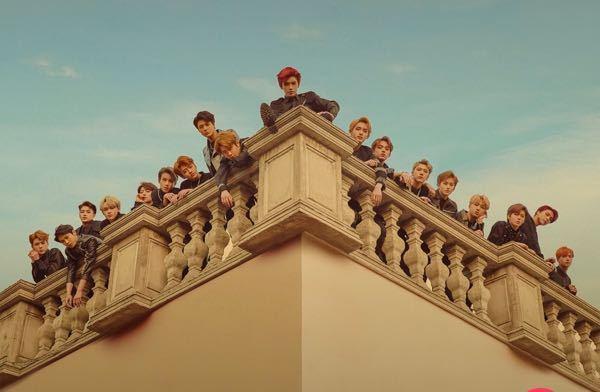 NCTを覚えたいです! この写真のメンバーの名前を左から教えて下さい!