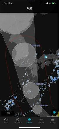 自分岡山県に住んでいるんですが、進路を見ると台風10号の暴風域に入らない予想になってますが実際どのくらいの風が吹きますか?強風域並の風でしょうか?