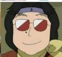 『忍たま乱太郎』のドクタケ忍者教室の魔界之小路先生がサングラスを取っている素顔の画像を載せてください。 (通販で失敗注文ばかりしている人)