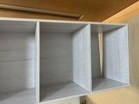 アイリスオーヤマの工具不要のカラーボックスを組み立てていたのですが、後ろの板が入らず、完成しません。やり直したいのですが、できませんか?もうこれは捨てるしかないのでしょうか?