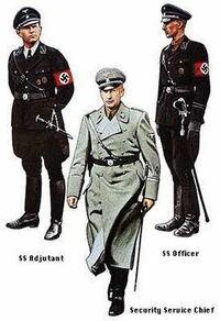 ナチスドイツの軍服について質問なのですが、このラインハルトハイドリヒが着ている服はどこで売っていますか?教えてほしいです!