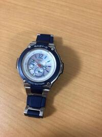 BABY-Gの時計ですが、時間の合わせ方がわかりません。教えていただけないでしょうか?